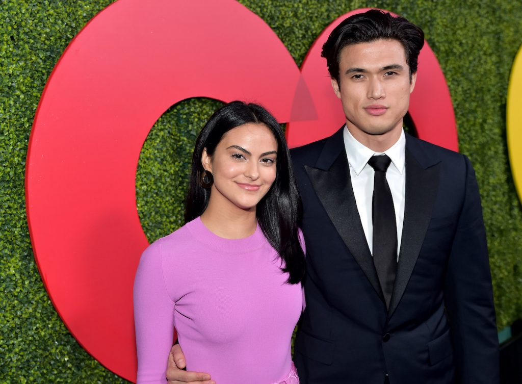 'Riverdale' stars Camila Mendes and Charles Melton, who recently got back together