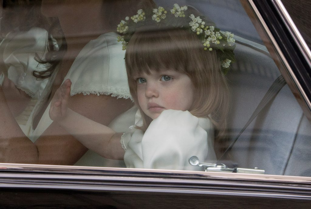 Camilla Parker Bowles' granddaughter Eliza Lopes as a bridesmaid in Prince William and Kate Middleton
