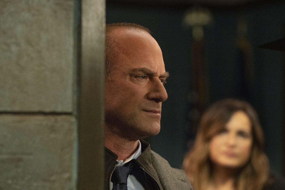 Christopher Meloni and Mariska Hargitay together in a scene from 'Law & Order: SVU.'