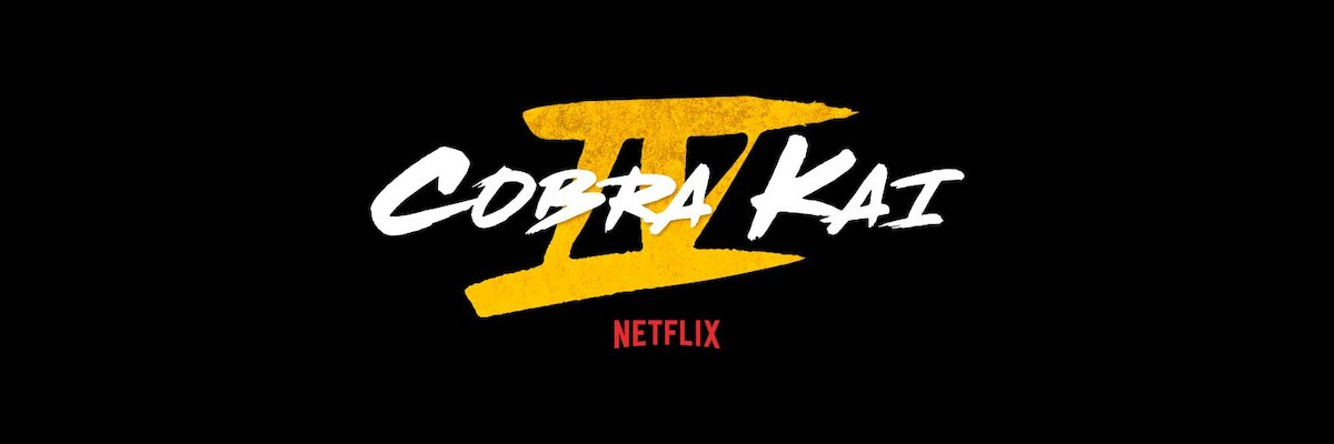 The official logo for Netflix's 'Cobra Kai' Season 4
