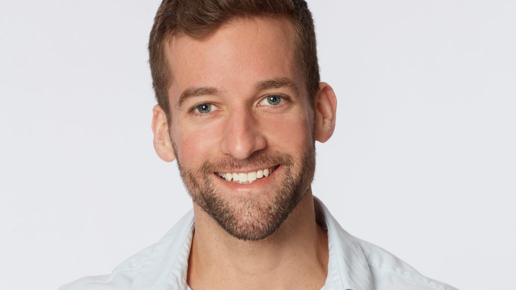 Headshot of Connor Brennan (Connor B.) from 'The Bachelorette' Season 17 with Katie Thurston in 2021