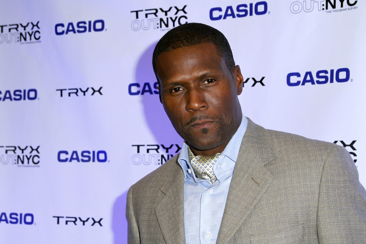 Curtiss Cook attends the Casio Tryx digital launch at the Best Buy Theatre