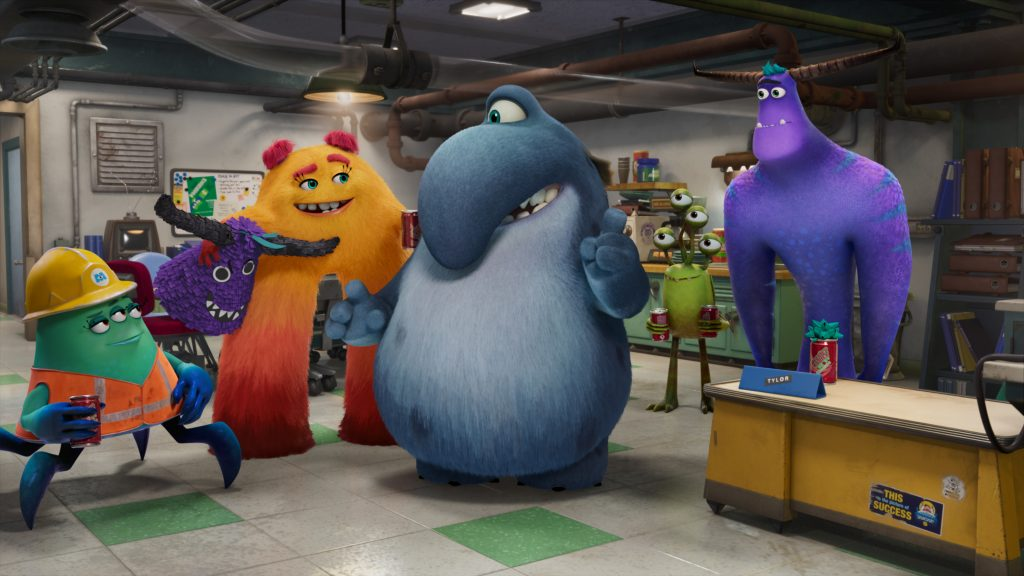 New characters from the Disney+ original series, 'Monsters at Work,' premiering on July 7