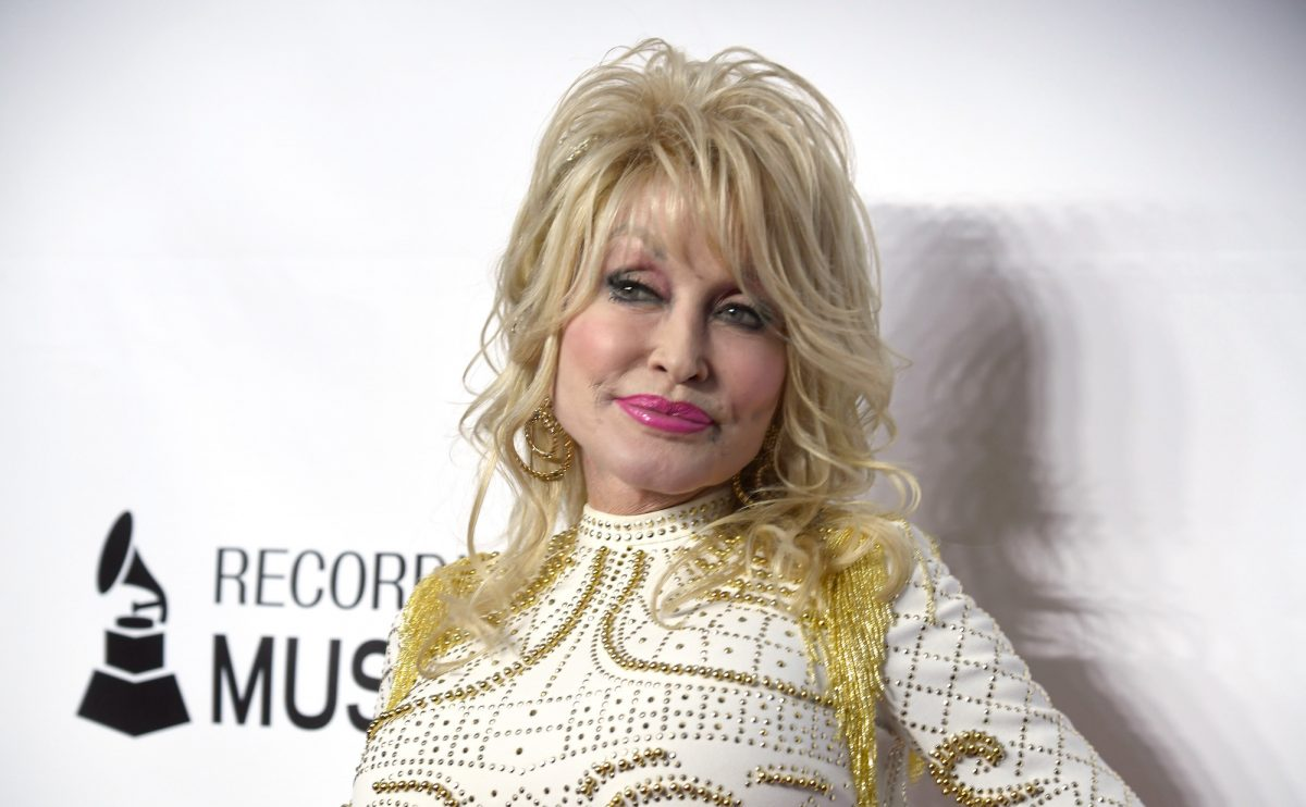 Dolly Parton attending the MusiCares Person Of The Year event in 2019