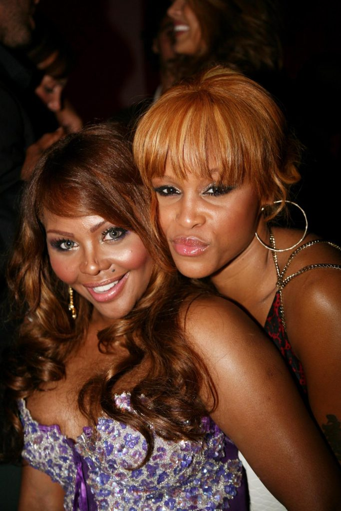 Lil Kim and Eve