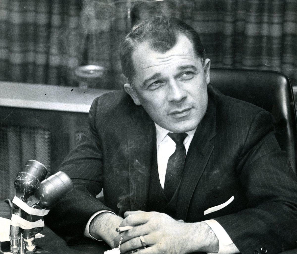 Attorney F. Lee Bailey, who represents Albert DeSalvo, the self-confessed Boston Strangler in 1967