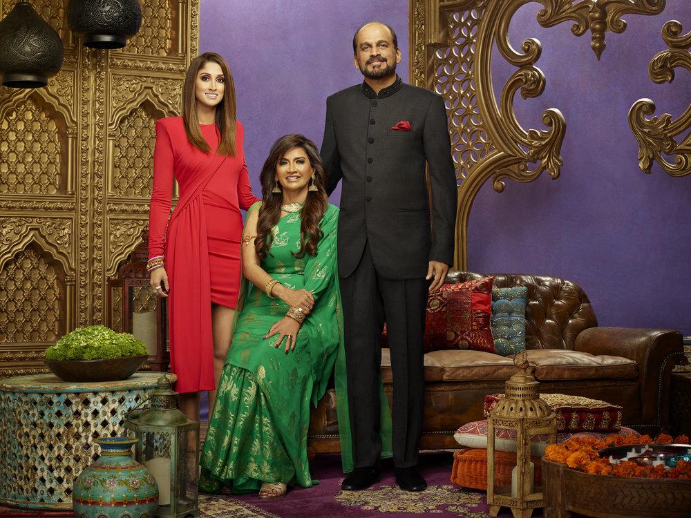 Family Karma's Anisha Ramakrishna, Chitra Ramakrishna, Ram Ramakrishna