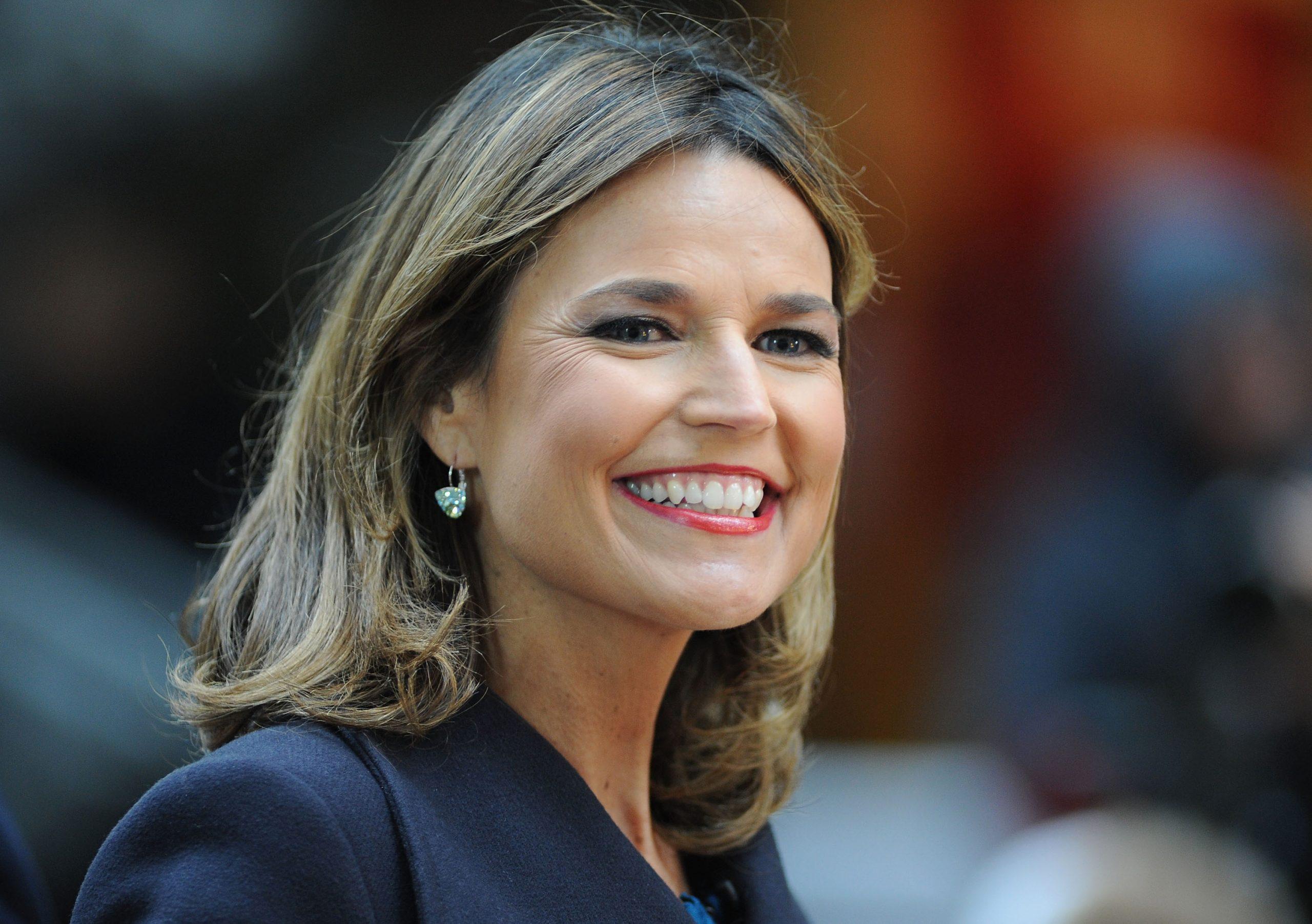 'Today' co-anchor Savannah Guthrie smiles for the camera