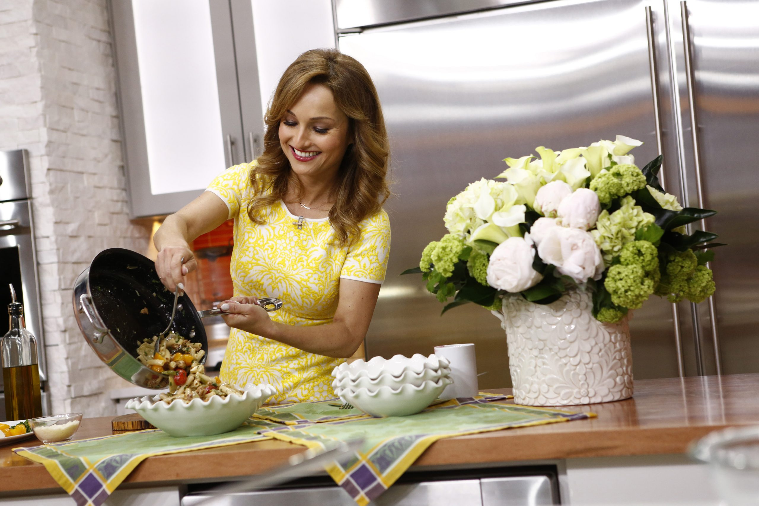 Food Network television personality Giada De Laurentiis appears on 'Today' in 2014