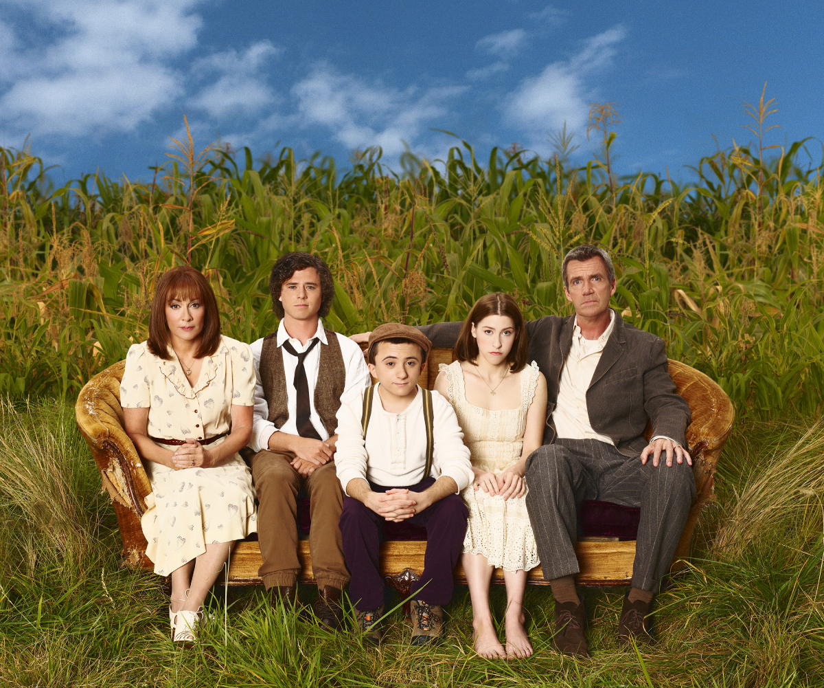 The cast of 'The Middle' (left to right): Patricia Heaton, Charlie McDermott, Atticus Shaffer, Eden Sher, and Neil Flynn