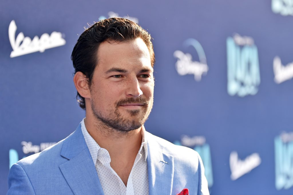 Giacomo Gianniotti arrived at the Luca Movie Premiere