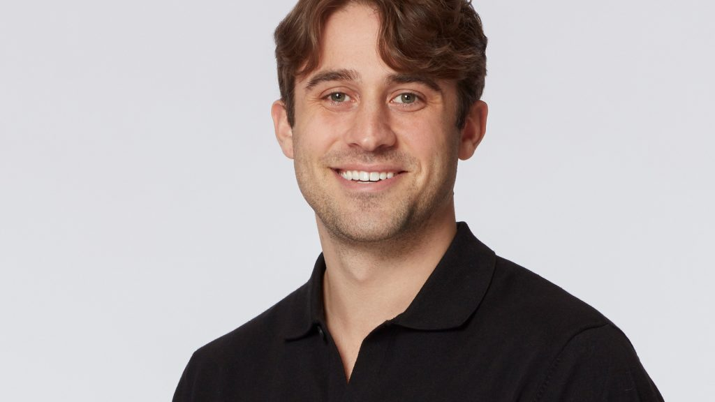 Headshot of Greg Grippo from 'The Bachelorette' Season 17 in 2021 with Katie Thurston