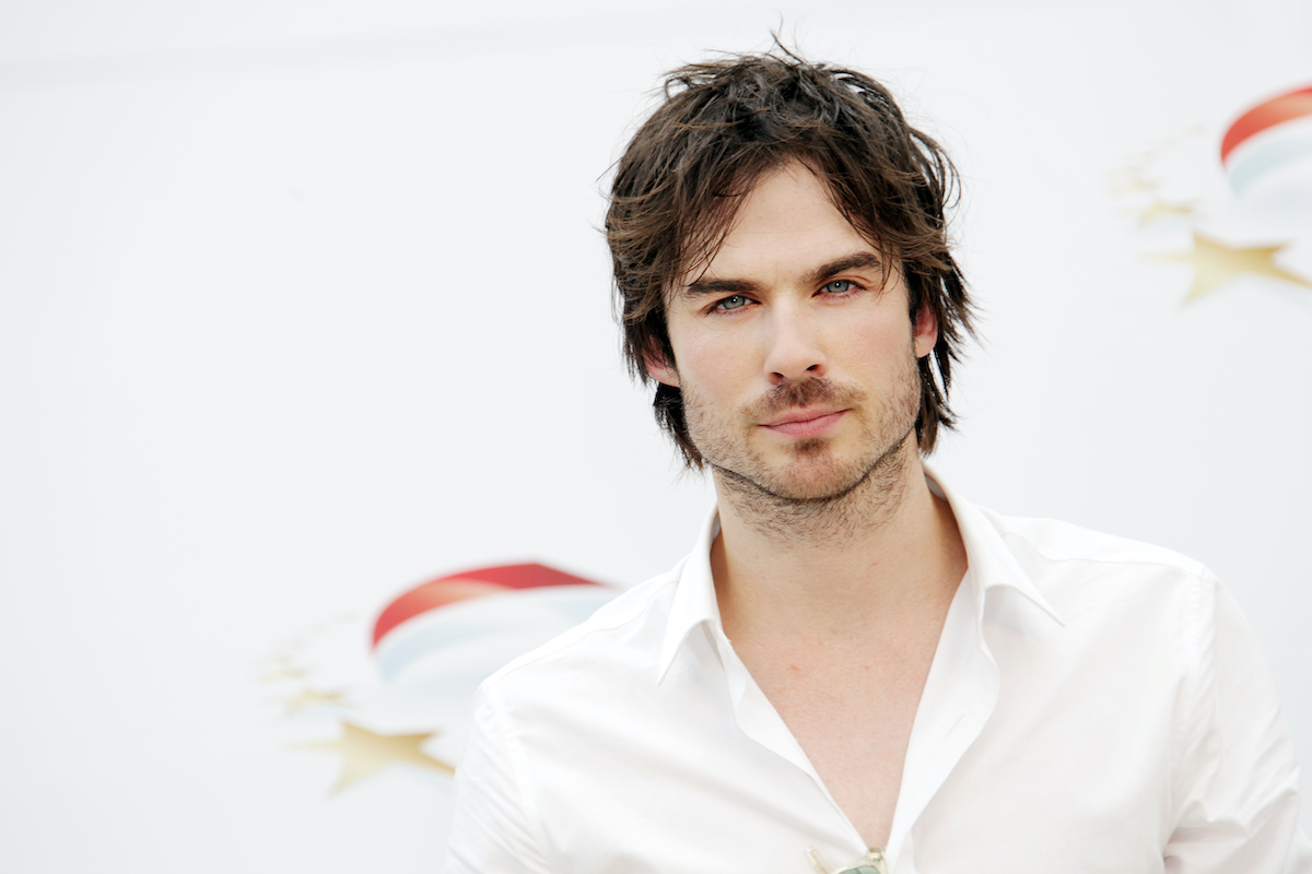 Ian Somerhalder from The Vampire Diaries attends the 2010 Monte Carlo Television Festival
