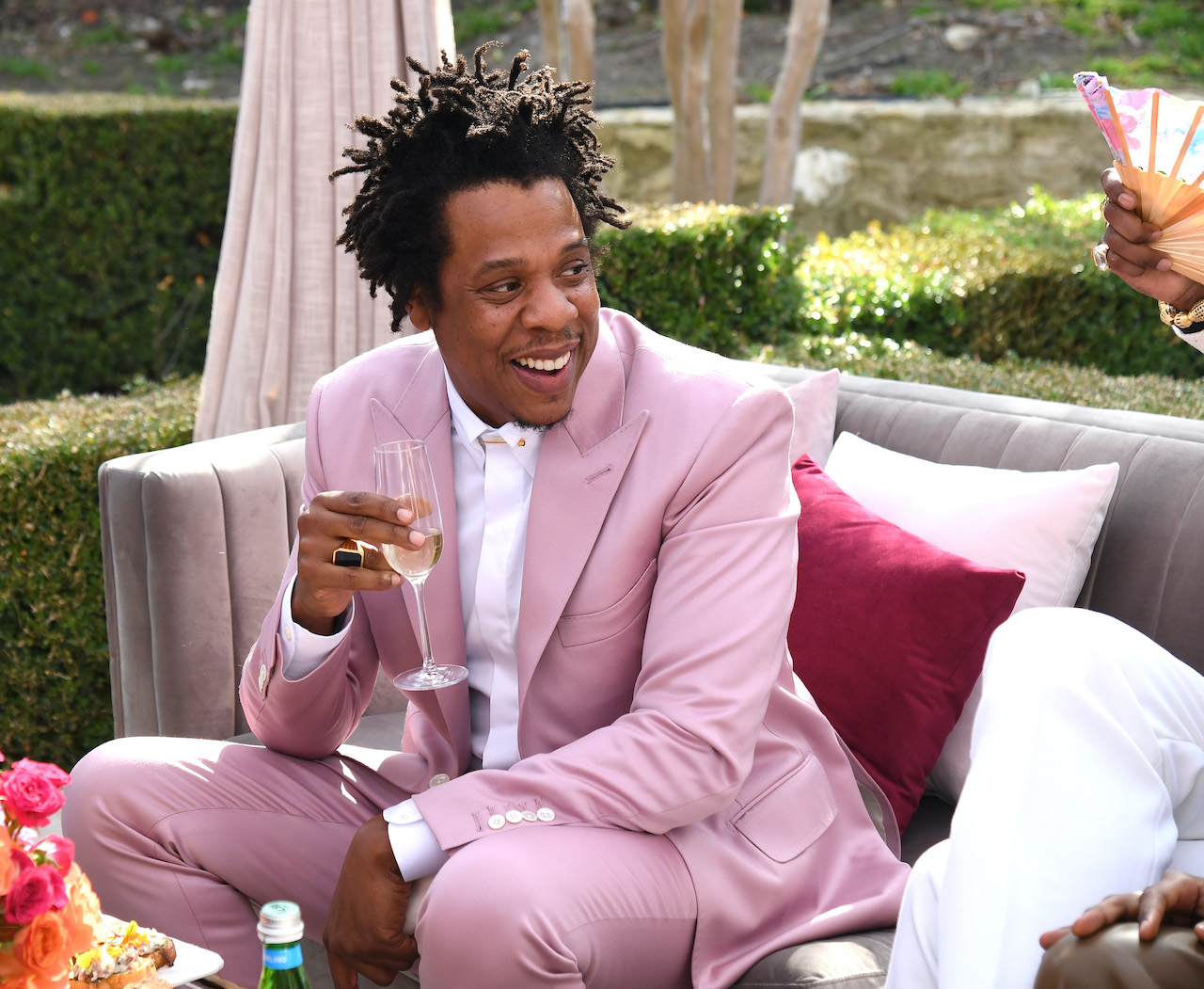 Jay-Z attends 2020 Roc Nation THE BRUNCH in Los Angeles, California