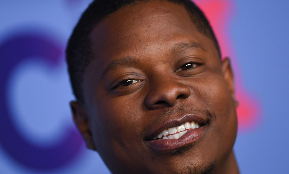 """Actor Jason Mitchell arrives for Showtime's """"The Chi"""" Emmy FYC red carpet event"""