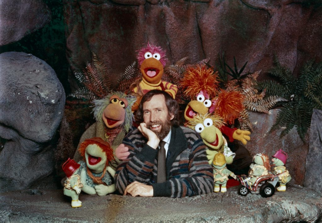 Jim Henson with Muppets cast