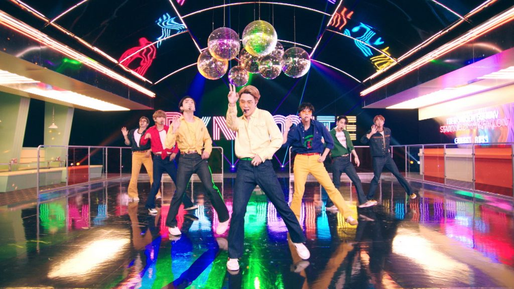 Musical guest BTS perform on 'The Tonight Show Starring Jimmy Fallon'