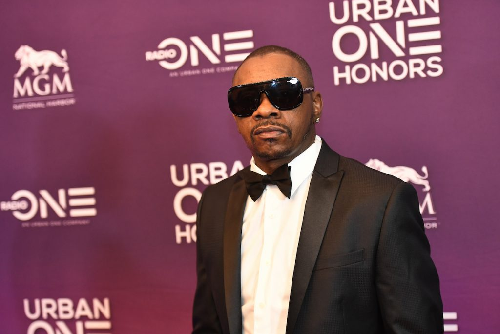 K-Ci of Jodeci on the red carpet