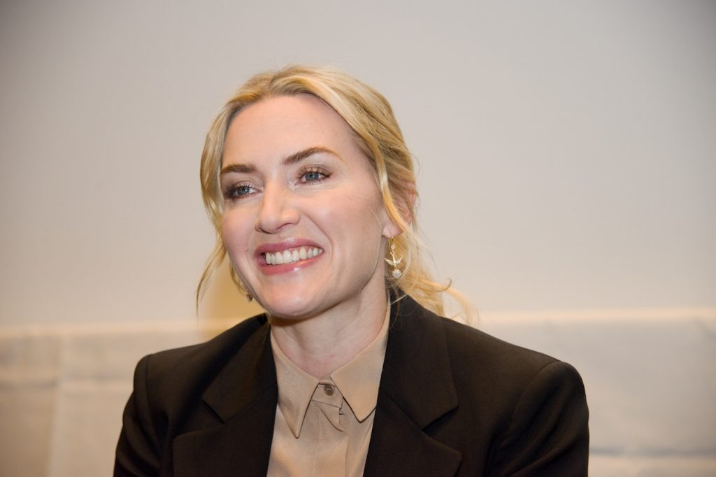 Kate Winslet at 'The Mountain Between Us' press conference at the SoHo Hotel on June 19, 2017 in London, England
