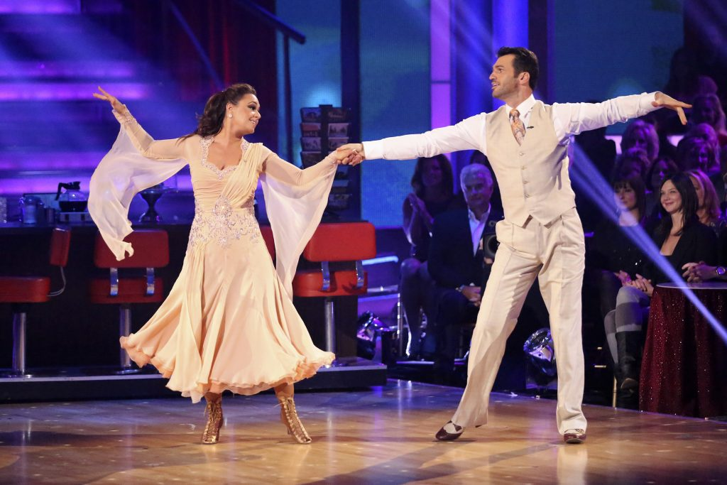 Leah Remini and Tony Dovolani on 'Dancing With the Stars'