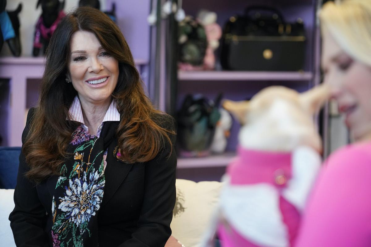 Lisa Vanderpump from Vanderpump Dogs speaks with a potential new client |Casey Durkin/Peacock