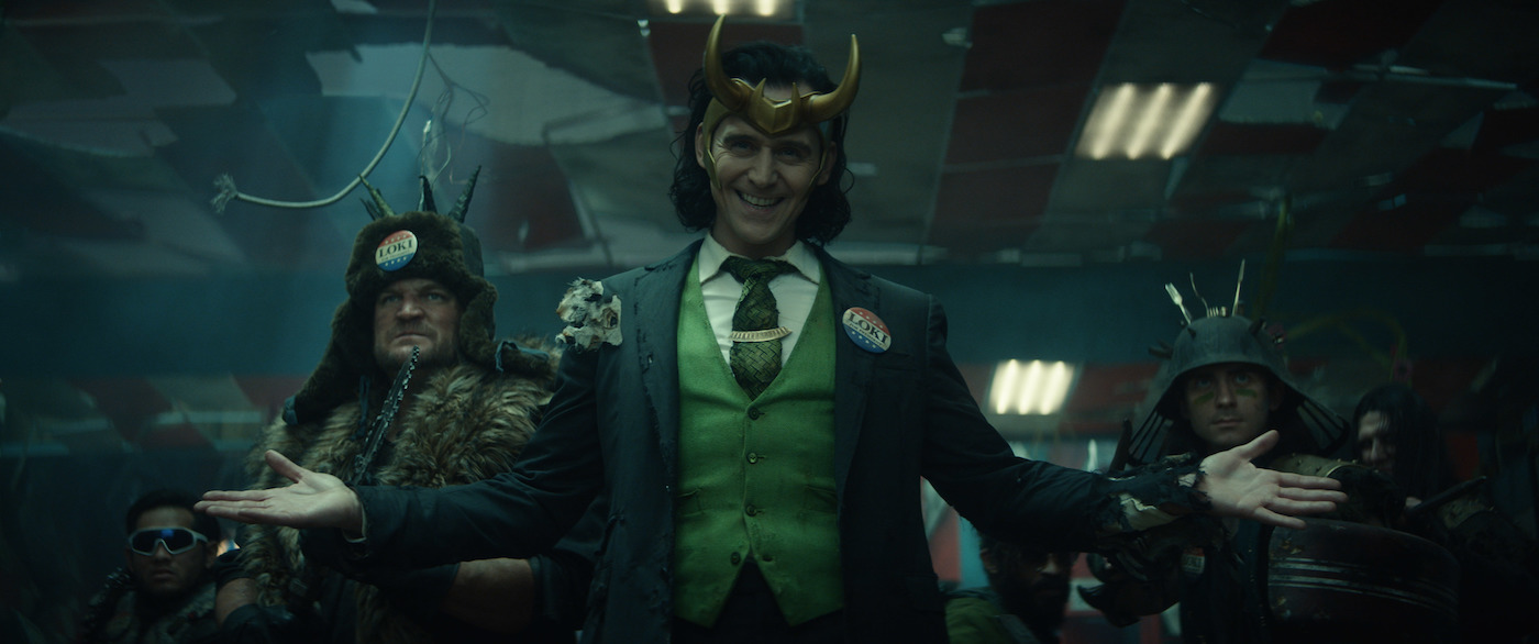 Actor Tom Hiddleston as the title character in Marvel Studios' 'Loki,' streaming on Disney+