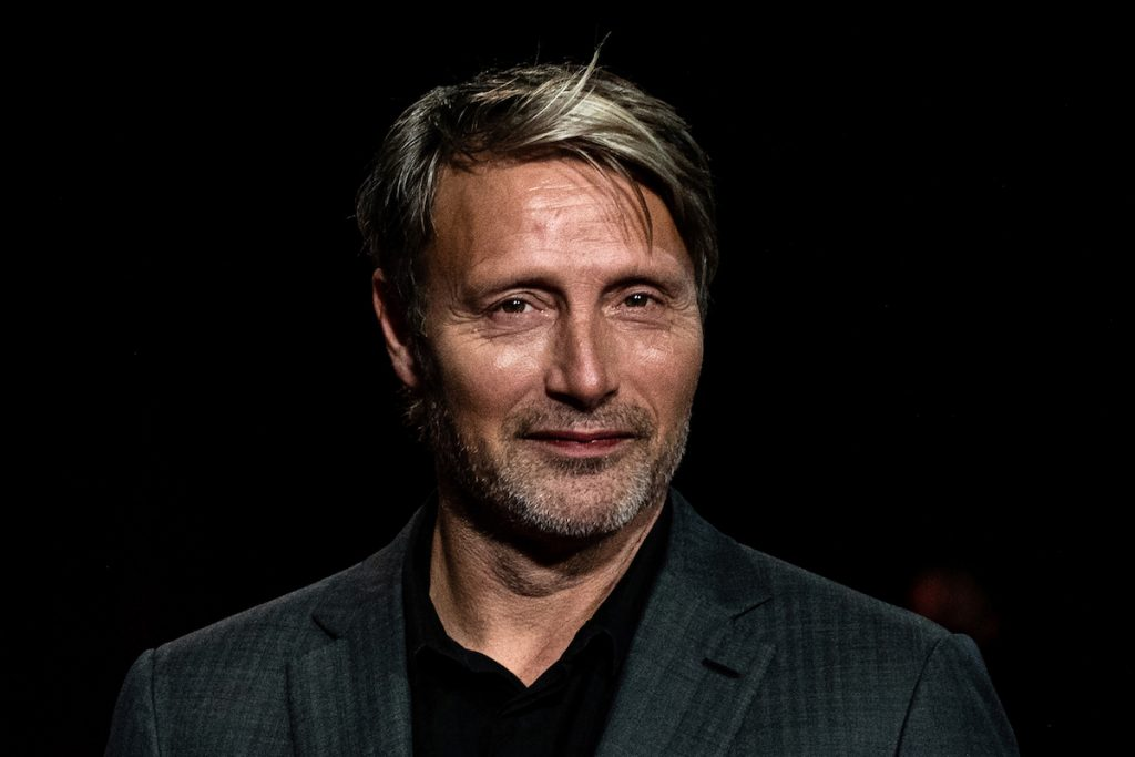 Mads Mikkelsen arrives for the opening ceremony of the 12th edition of the Lumiere Film Festival in Lyon, central eastern France, on October 10, 2020.