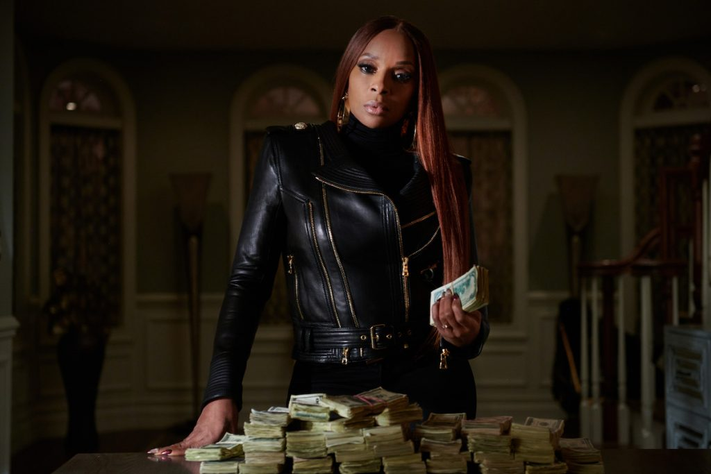 Mary J. Blige as Monet Tejada in 'Power Book II: Ghost'
