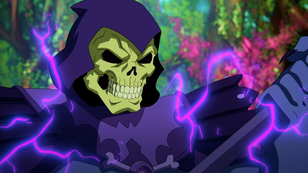 Masters of the Universe: Revelation - Skeletor weilds his magic staff