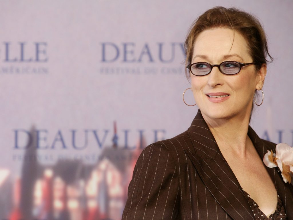 Meryl Streep poses at the photocall for The Devil wears Prada at the 32nd Deauville Festival Of American Film on September 9, 2006 in Deauville, France.