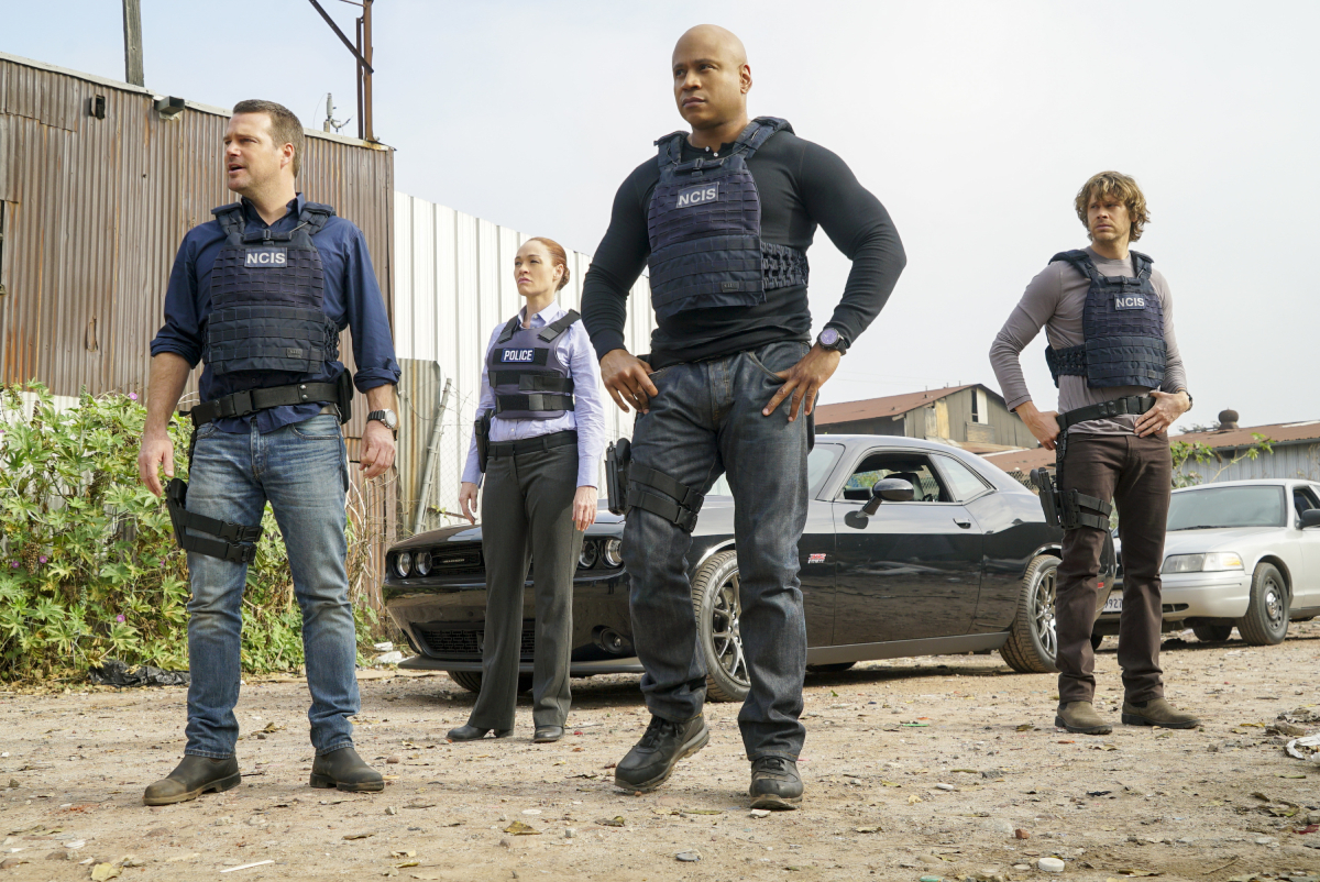 Chris O'Donnell (Special Agent G. Callen), Karina Logue (LAPD Detective Ellen Whiting), LL COOL J (Special Agent Sam Hanna) and Eric Christian Olsen (LAPD Liaison Marty Deeks). Hetty goes rogue, leaving the NCIS team completely in the dark, and the mole kidnaps one of the agents, on NCIS: LOS ANGELES, Sunday, Jan. 29