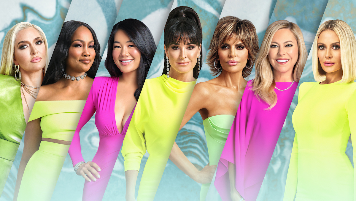 The Real Housewives of Beverly Hills cast photos of Erika Girardi, Garcelle Beauvais, Crystal Kung Minkoff, Kyle Richards, Lisa Rinna, Sutton Stracke, Dorit Kemsley