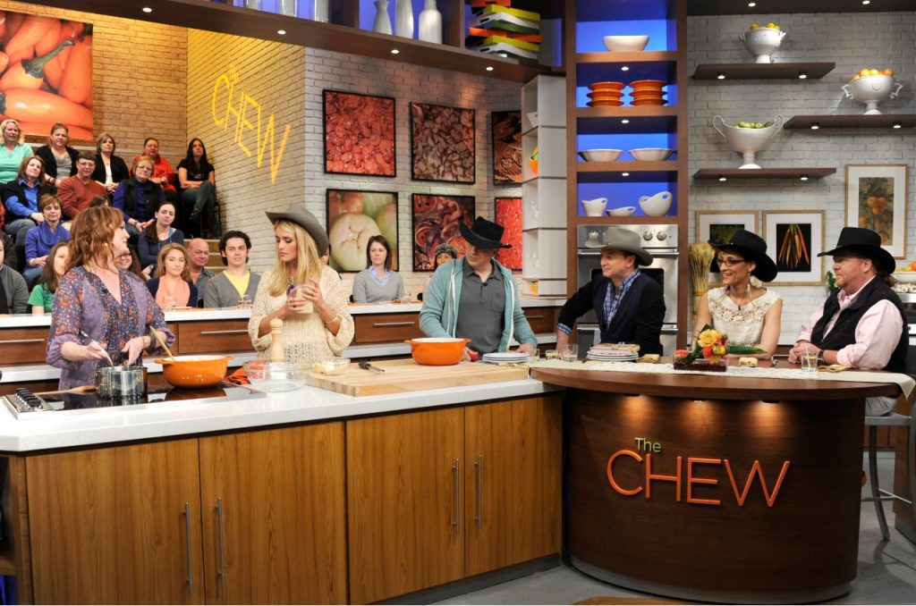 Ree Drummond on The Chew
