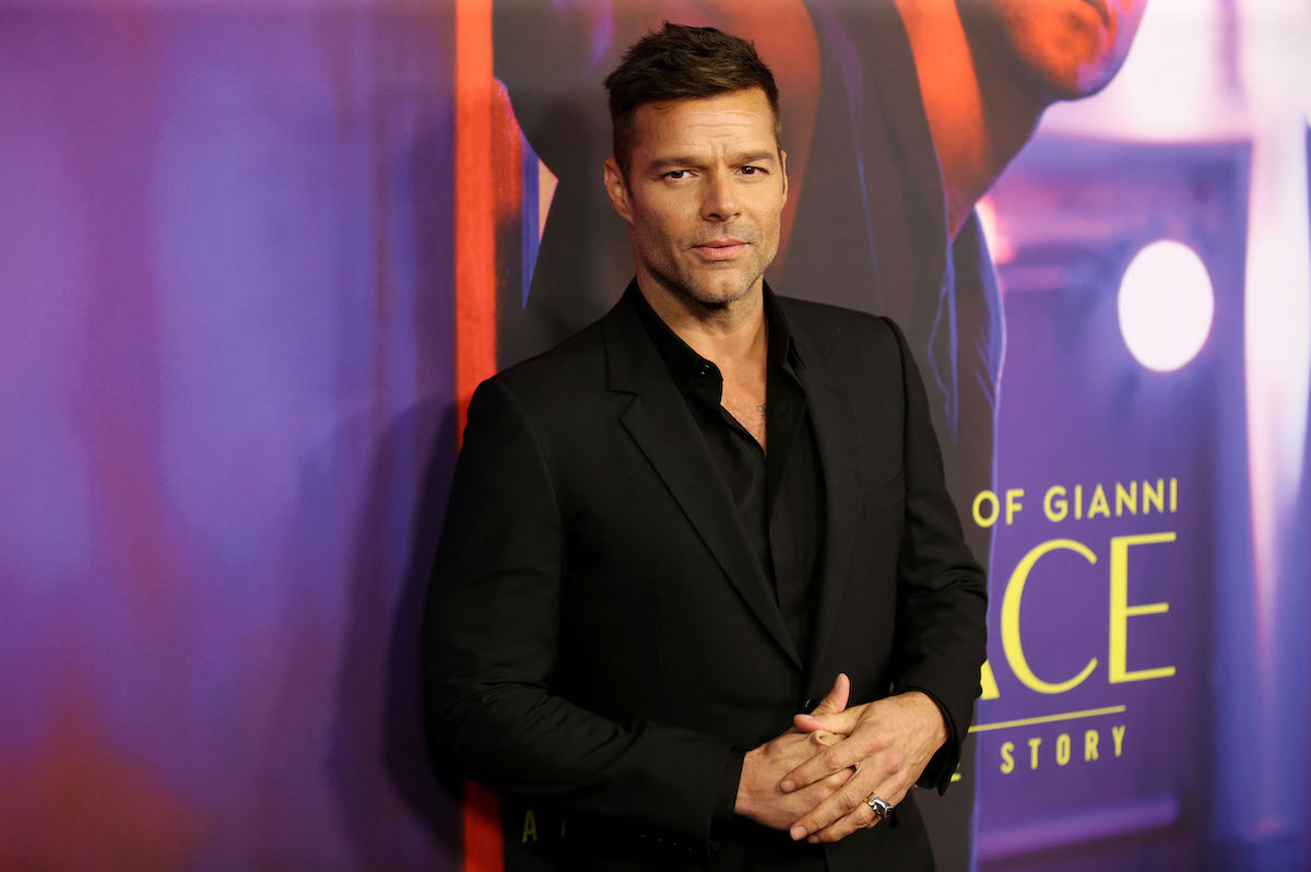 Ricky Martin poses for cameras at a For Your Consideration Event for FX's 'The Assassination of Gianni Versace American Crime Story' in 2018