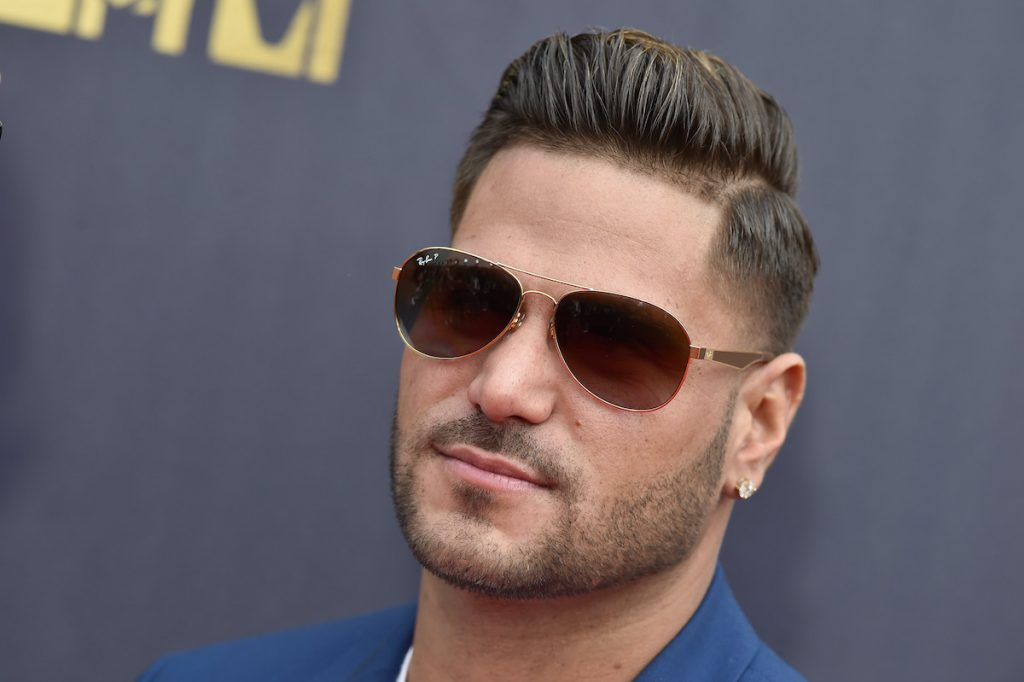 'Jersey Shore: Family Vacation' star Ronnie Ortiz-Magro, who recently got engaged to Saffire Matos, attends the 2018 MTV Movie & TV Awards