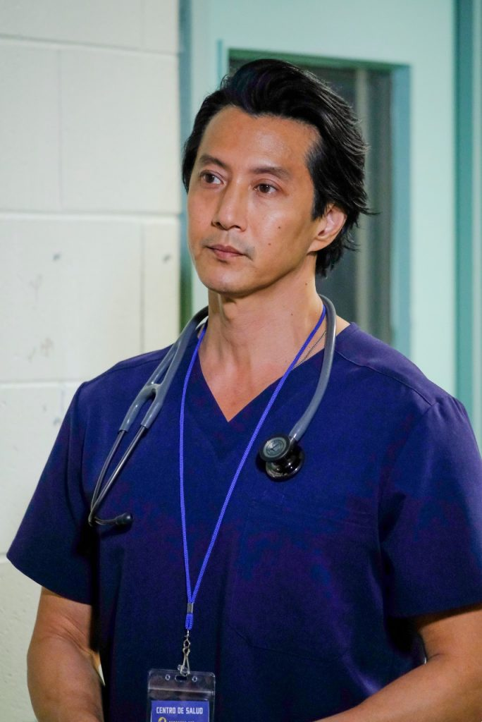 Will Yun Lee as Alex Park on the Good Doctor