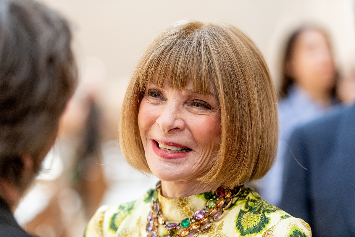 Anna Wintour attends the 2019 Met Gala Celebrating Camp: Notes On Fashion press preview at The Metropolitan Museum of Art on May 06, 2019 in New York City.