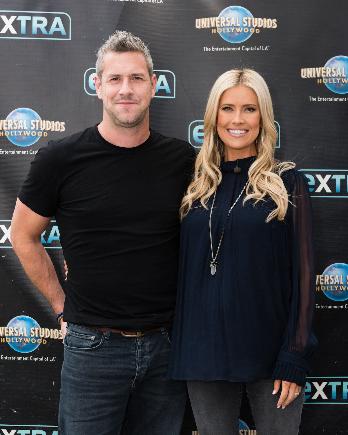 Ant Anstead and Christina Haack when they were married in 2019
