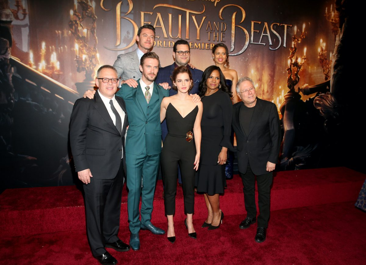"""Actors Dan Stevens, Emma Watson, Audra McDonald and Composer Alan Menken arrive for the world premiere of Disney's live-action """"Beauty and the Beast"""""""