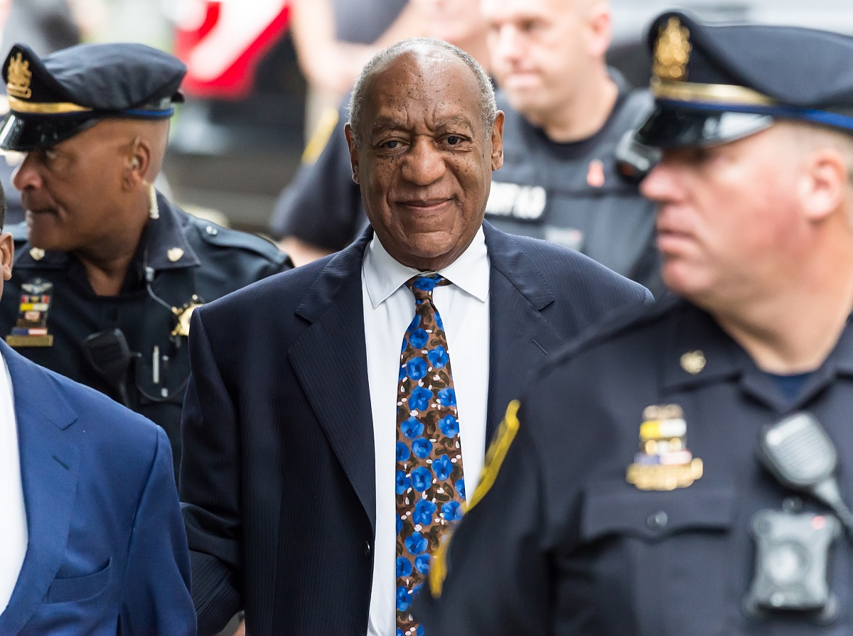Bill Cosby arrives for sentencing for his sexual assault trial at the Montgomery County Courthouse on September 24, 2018, in Norristown, Pennsylvania.