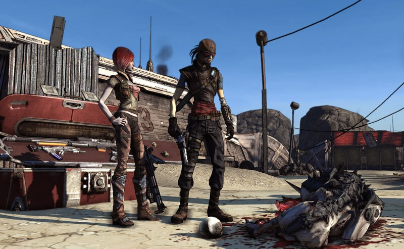 Lilith and Mordecai in Borderlands -- Cate Blanchett will play Lilith