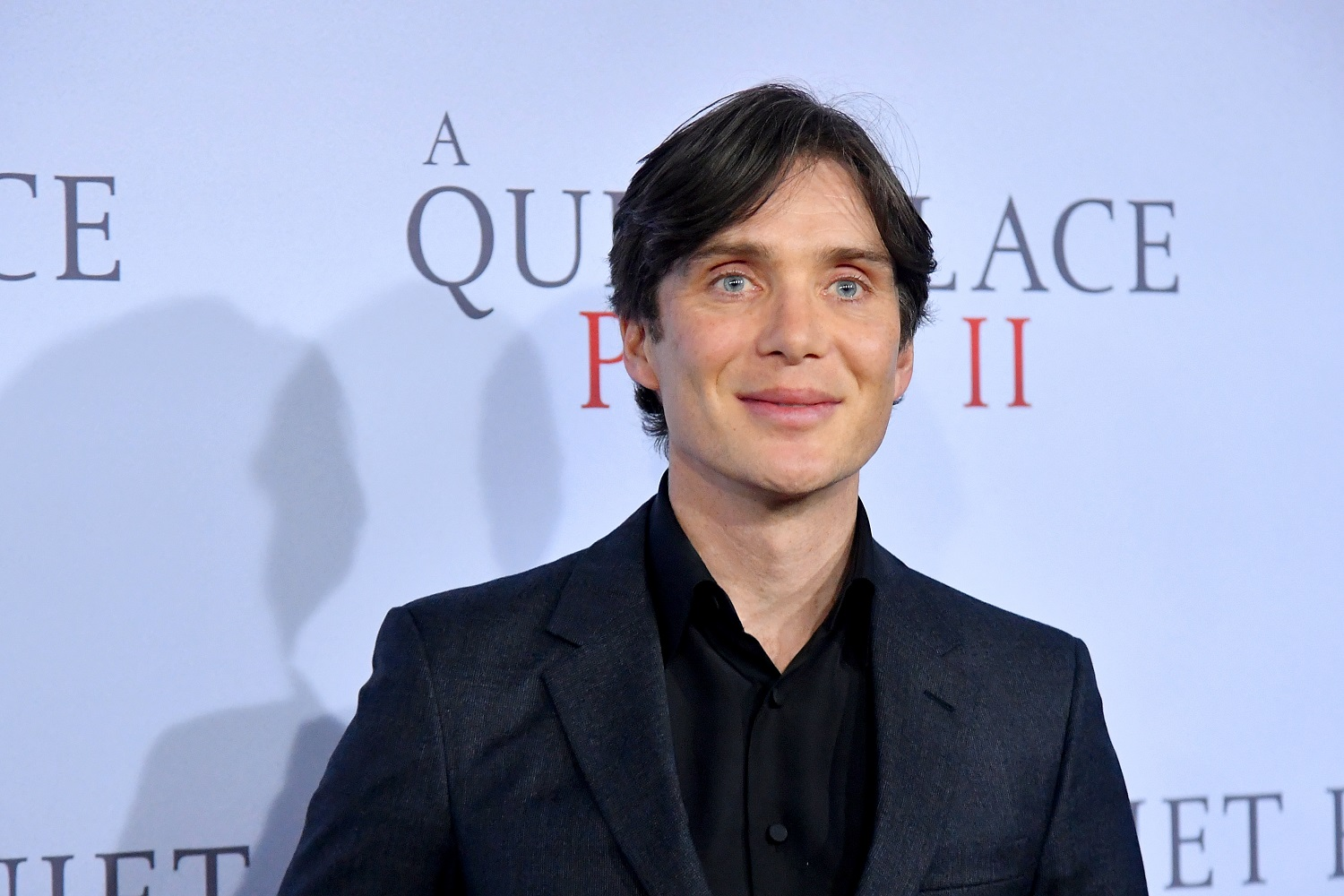 Actor Cillian Murphy poses for photographers at the premiere of 'A Quiet Place Part II.'