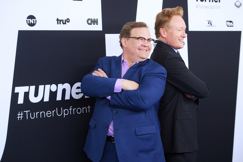 Andy Richter and Conan O'Brien