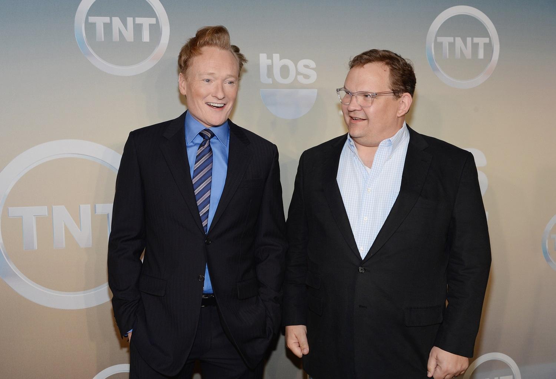 Conan O'Brien and Andy Richter