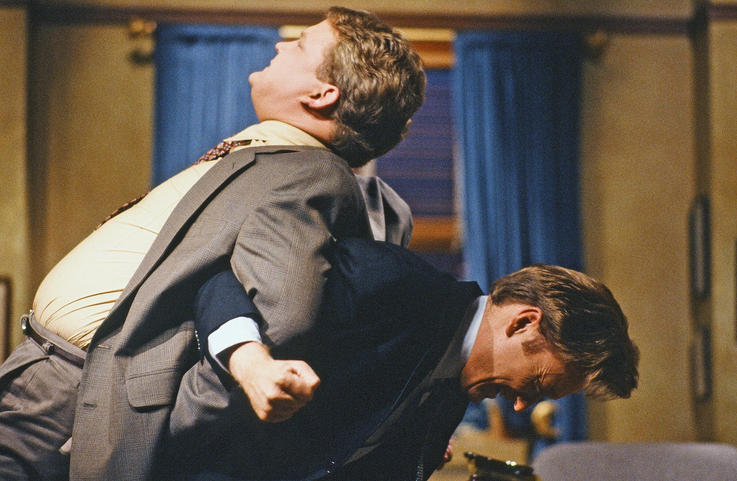 Andy Richter and Conan O'Brien on September 30, 1993