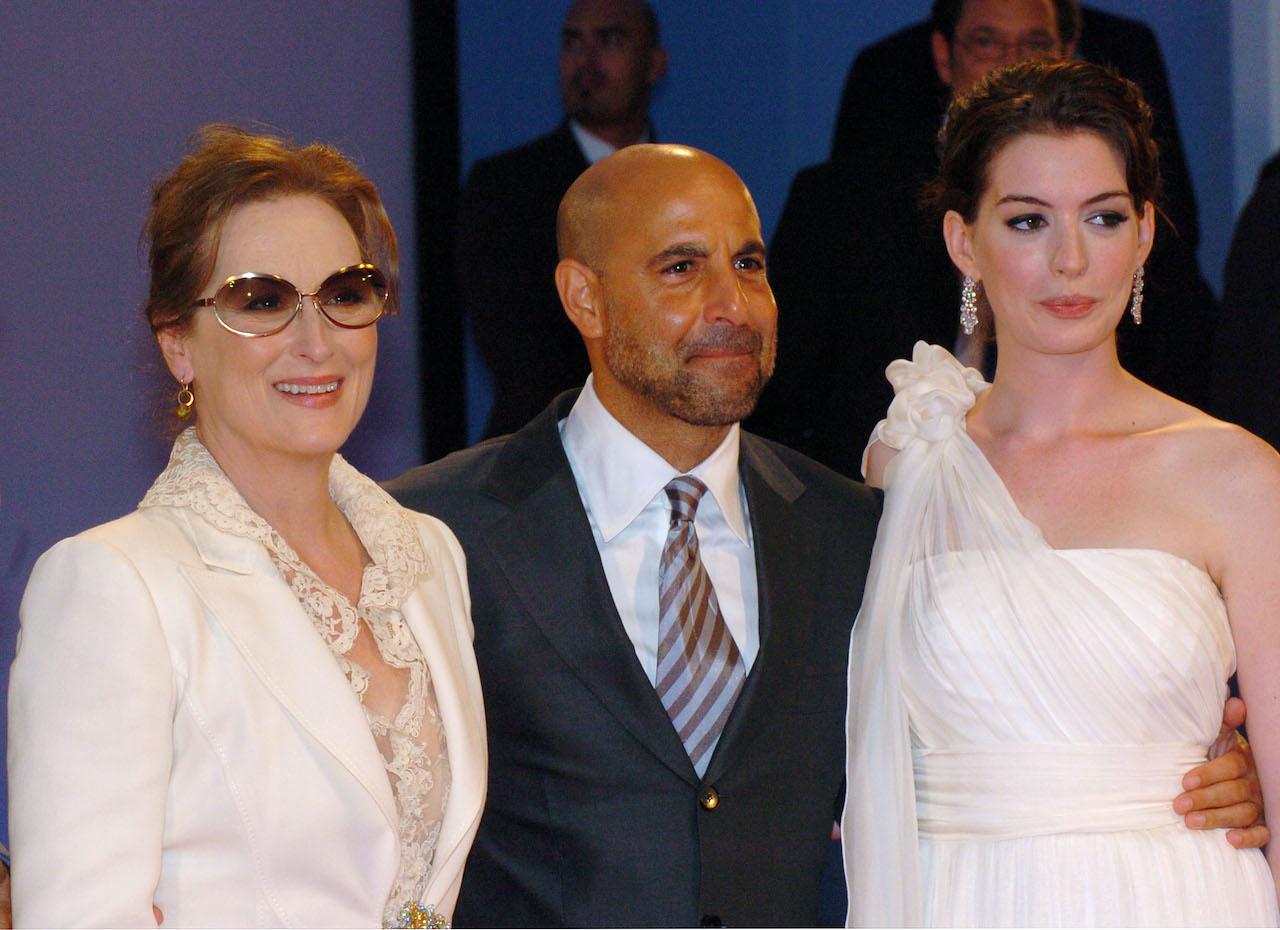 Meryl Streep, Stanley Tucci and Anne Hathaway, stars of 'The Devil Wears Prada'