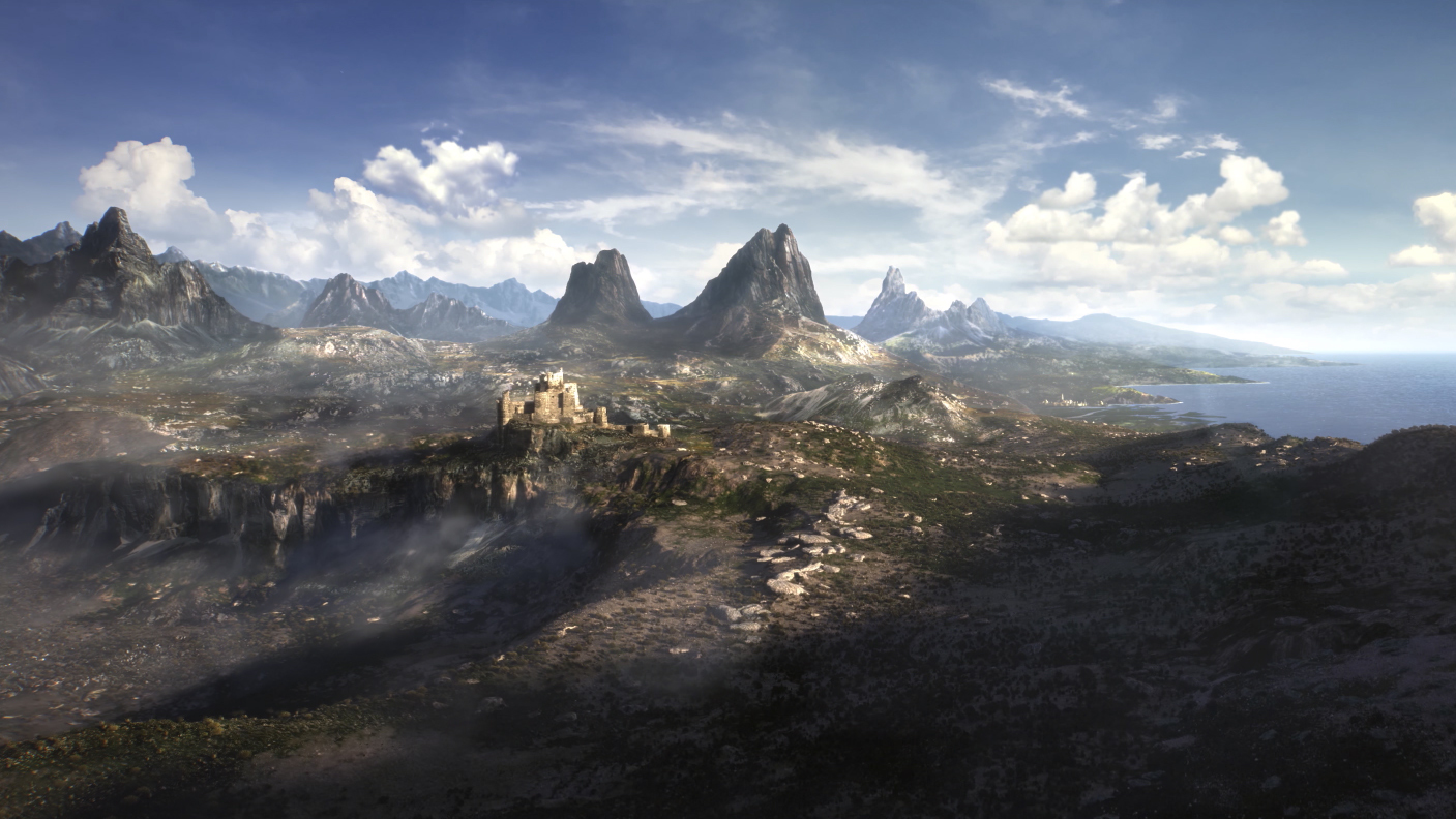 A still from 'The Elder Scrolls VI' official teaser trailer may picture the High Rock/Hammerfell area