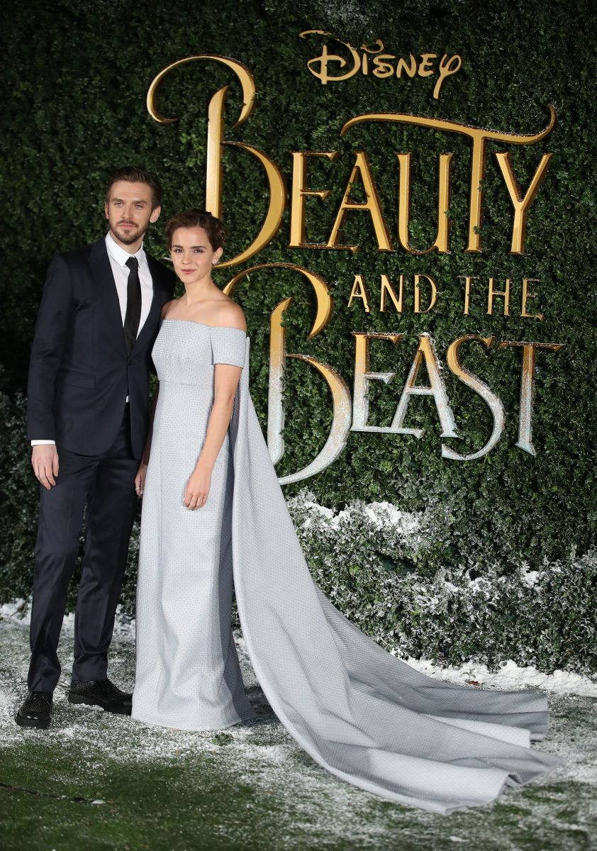 """Emma Watson and Dan Stevens attend UK launch event for """"Beauty And The Beast"""""""