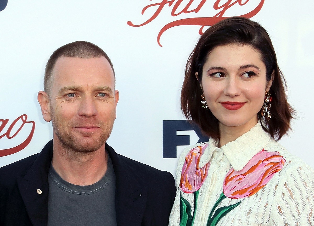 Actors Ewan McGregor (L) and Mary Elizabeth Winstead attend FX's 'Fargo' For Your Consideration event on May 11, 2017, in North Hollywood, California.