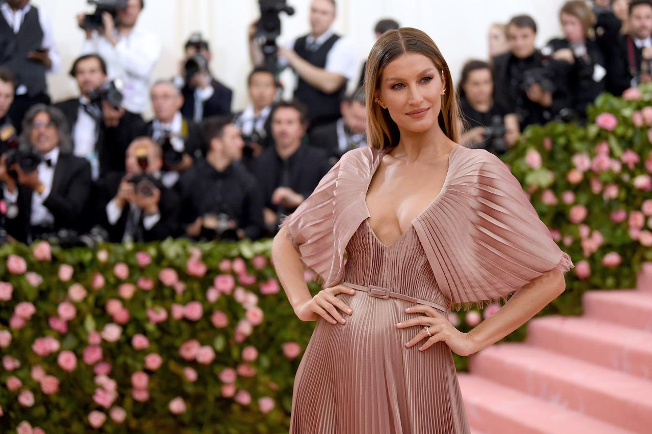 Gisele Bündchen attends the 2019 Met Gala Celebrating Camp: Notes on Fashion